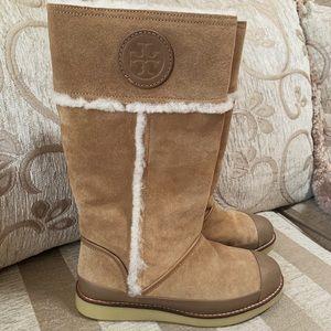 Tory Burch Nadine winter boots Sz 8